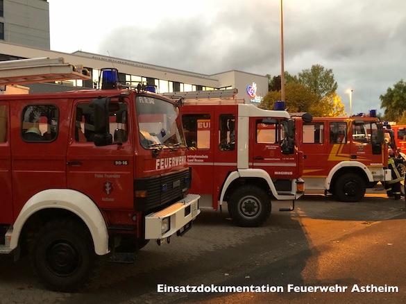 Unwettereinsätze – Hilfeleistung in Nauheim