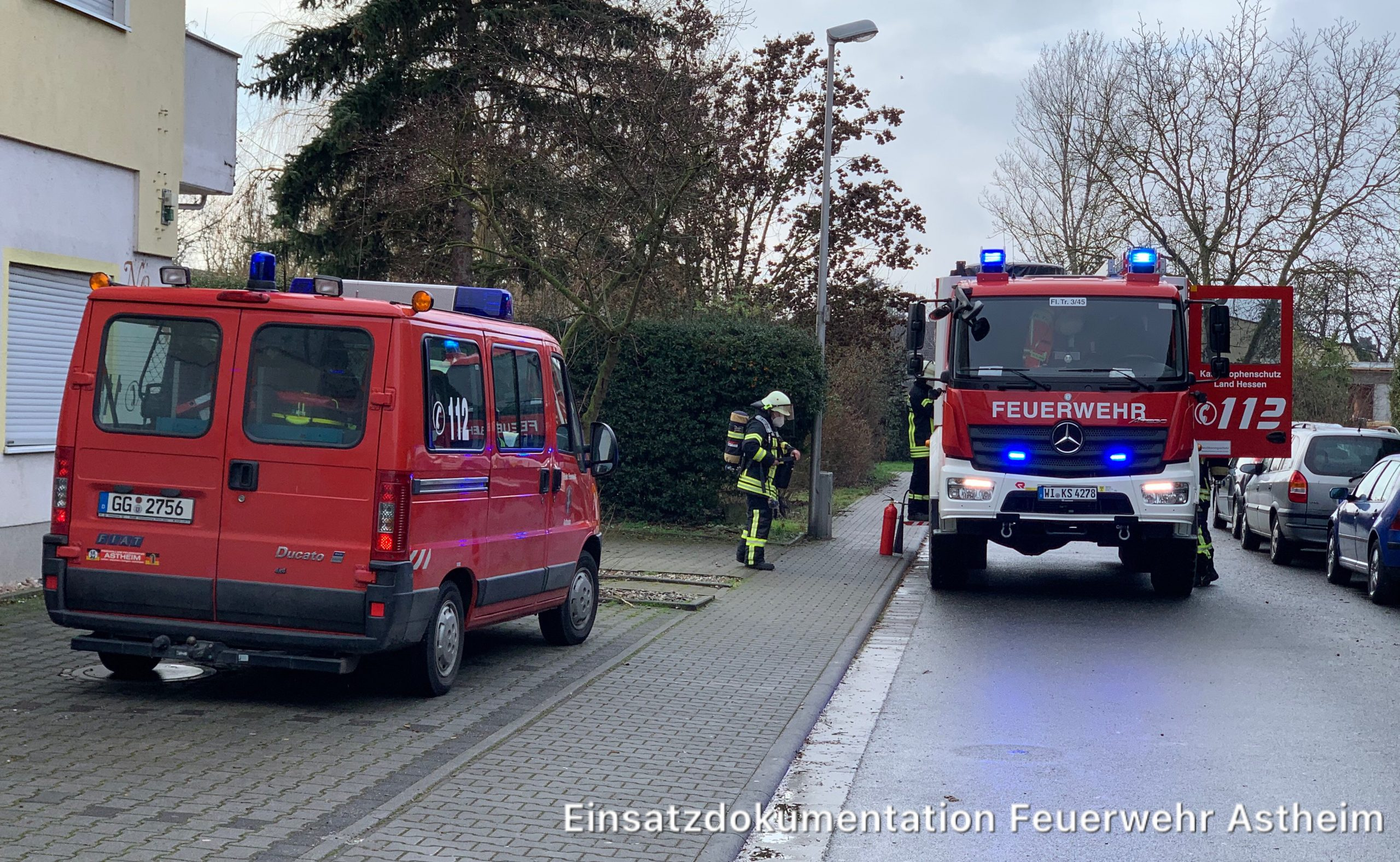 04/2021 Brandmelder in Alarm