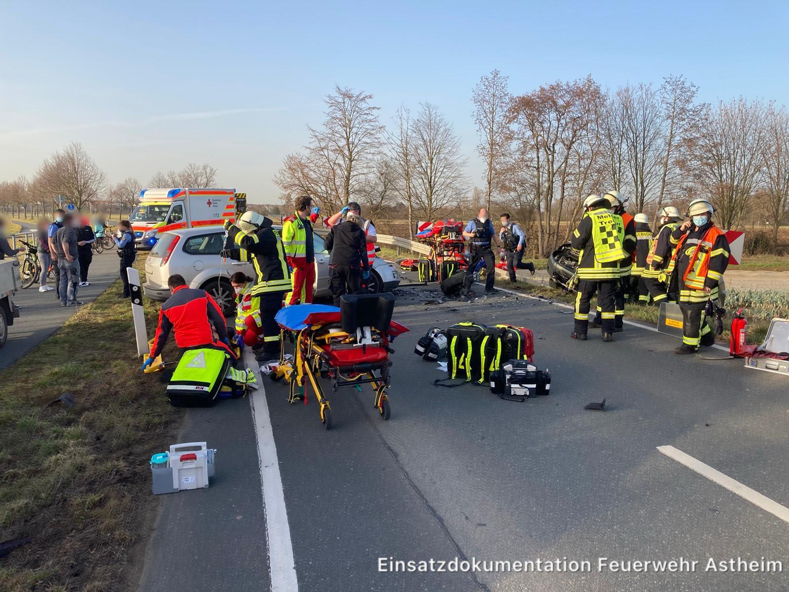 08/2021 Schwerer Verkehrsunfall